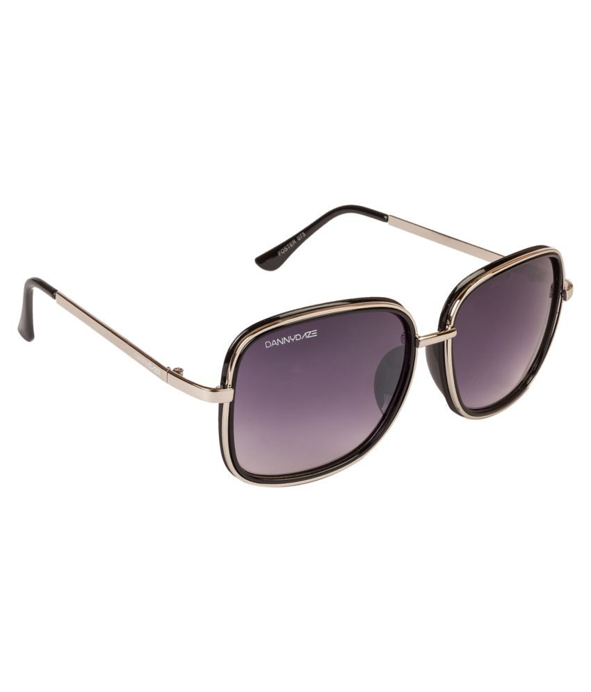 Danny Daze Purple Square Sunglasses ( D-73-C6 )