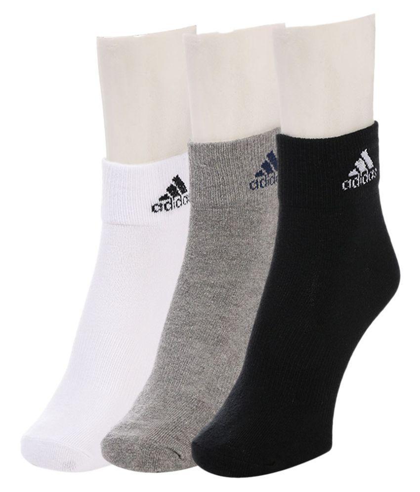 Adidas Multi Casual Ankle Length Socks Socks