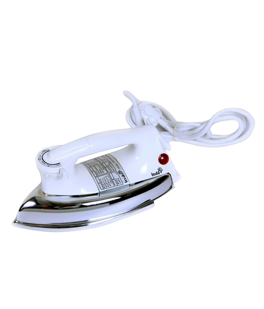 Indo CROMA GOLD Dry Iron White
