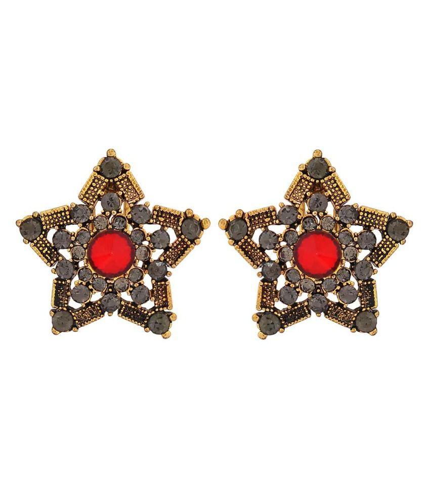 Maayra Multicolour Stud Earrings