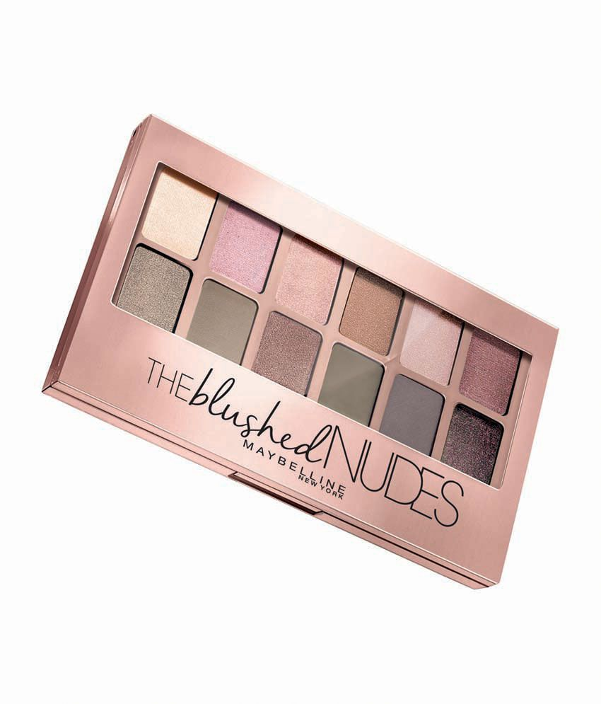 Maybelline New York The Blushed Nudes Palette - 9 gm