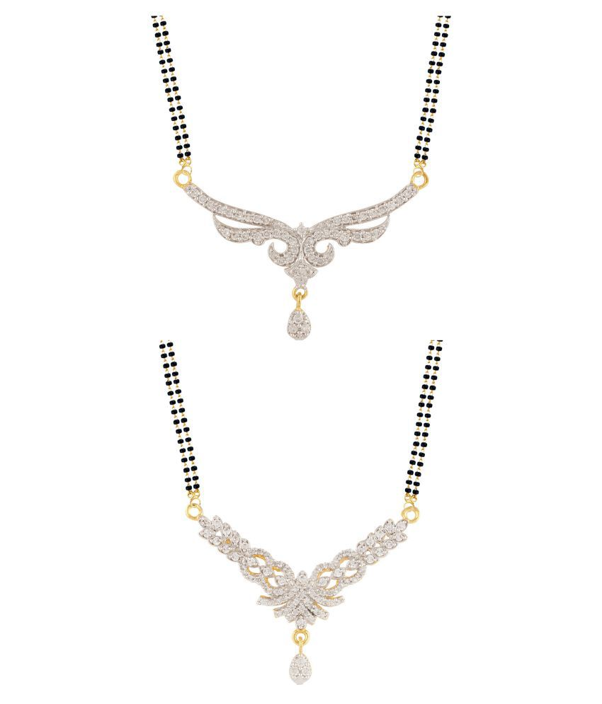 Parinaaz Golden Alloy Mangalsutra Combo