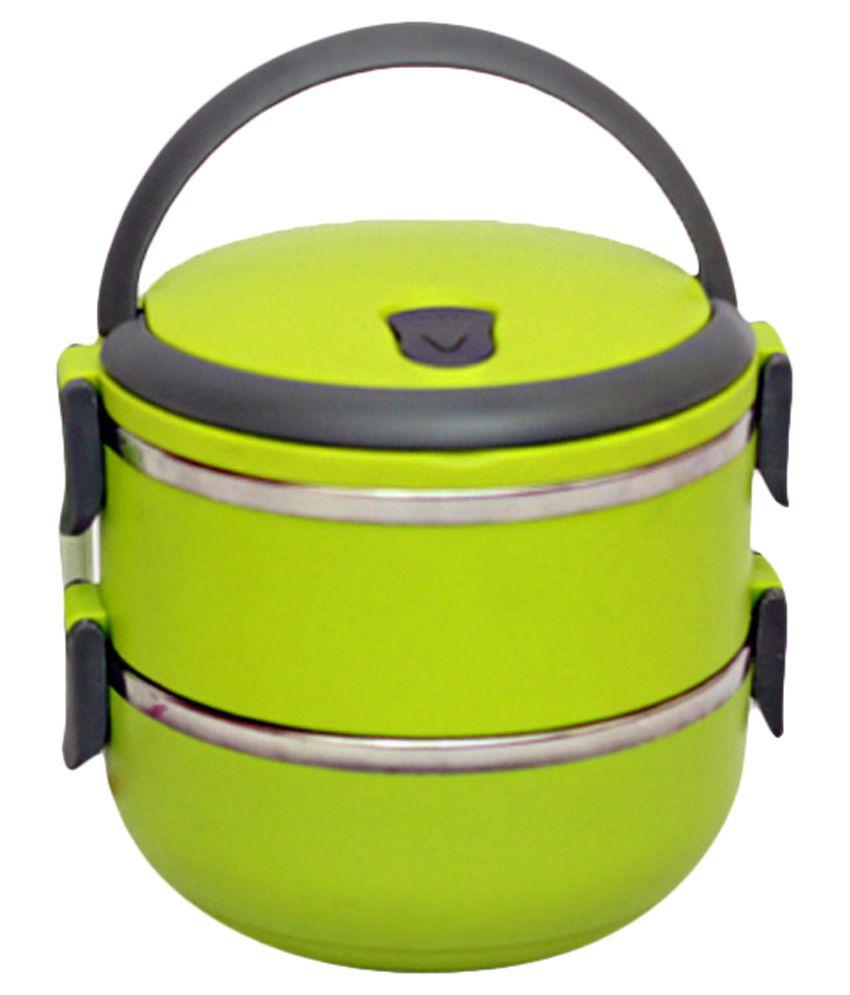 Vijaylaxmi Enterprises 2 Layer Lunch Box