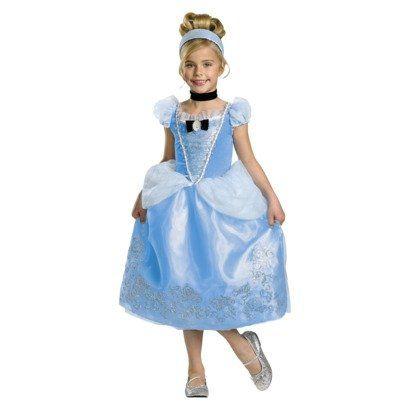 f4e65e52e6 Disney Princess Cinderella Deluxe Glitter Petticoat Dress Costume Size  Small 4-6 Sc 1 St Snapdeal