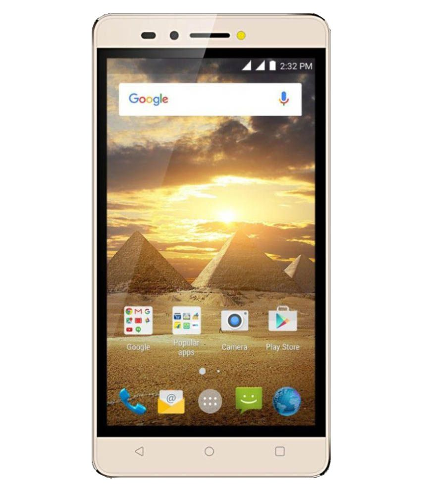 Karbonn Aura Power ( 8GB , 1 GB ) Champagne