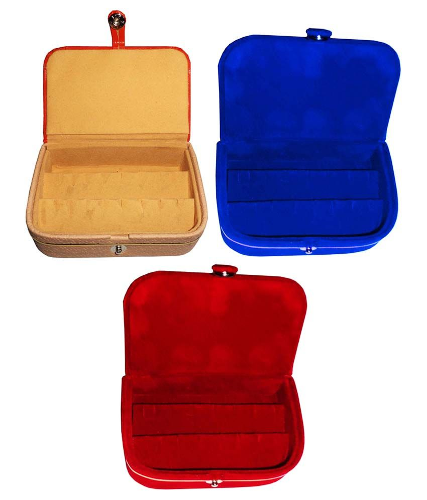Abhinidi Multicolour Earrings Boxes - Pack of 3