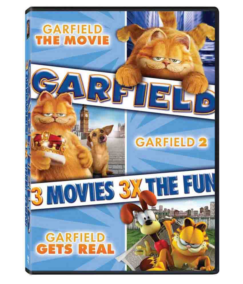 Garfield Garfield 2 Garfield Gets Real Dvd English Buy Online At Best Price In India Snapdeal