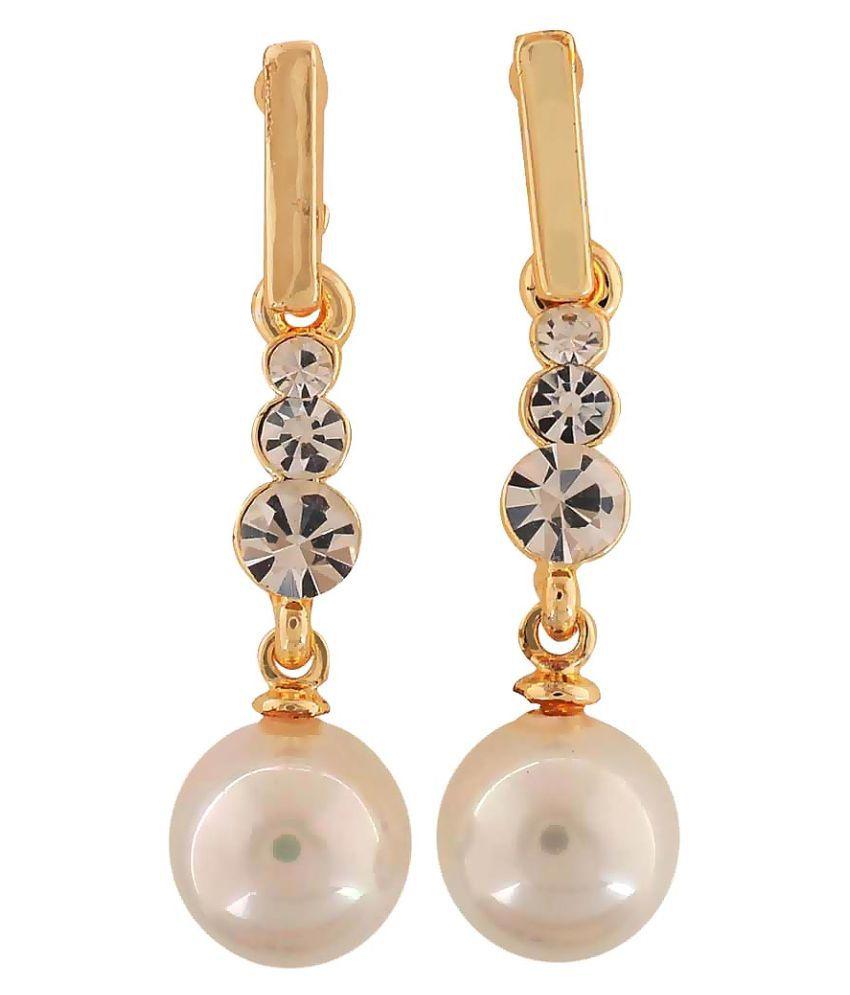 Maayra Multicolour Hanging Earrings