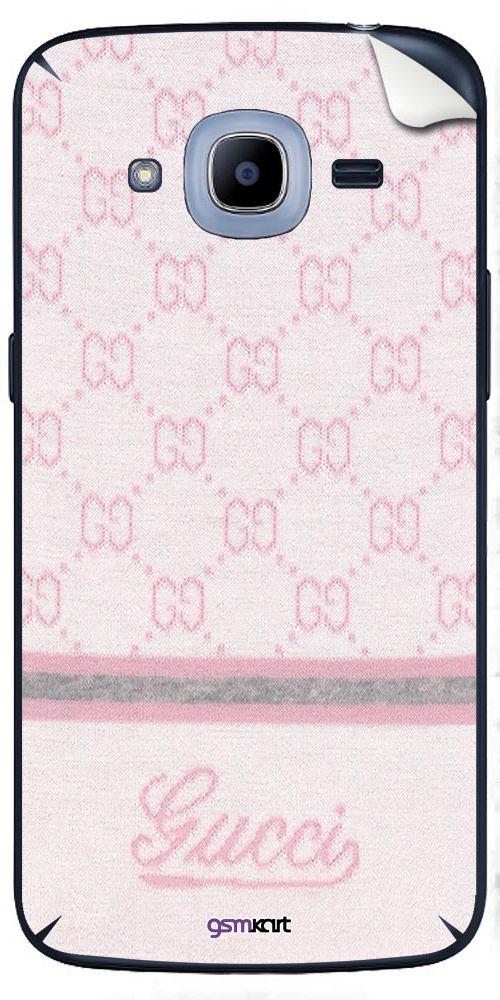 Samsung Galaxy J2 Pro Designer Stickers by GsmKart - Pink