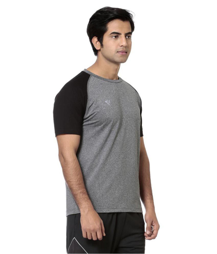 Seven Grey Polyester T-Shirts