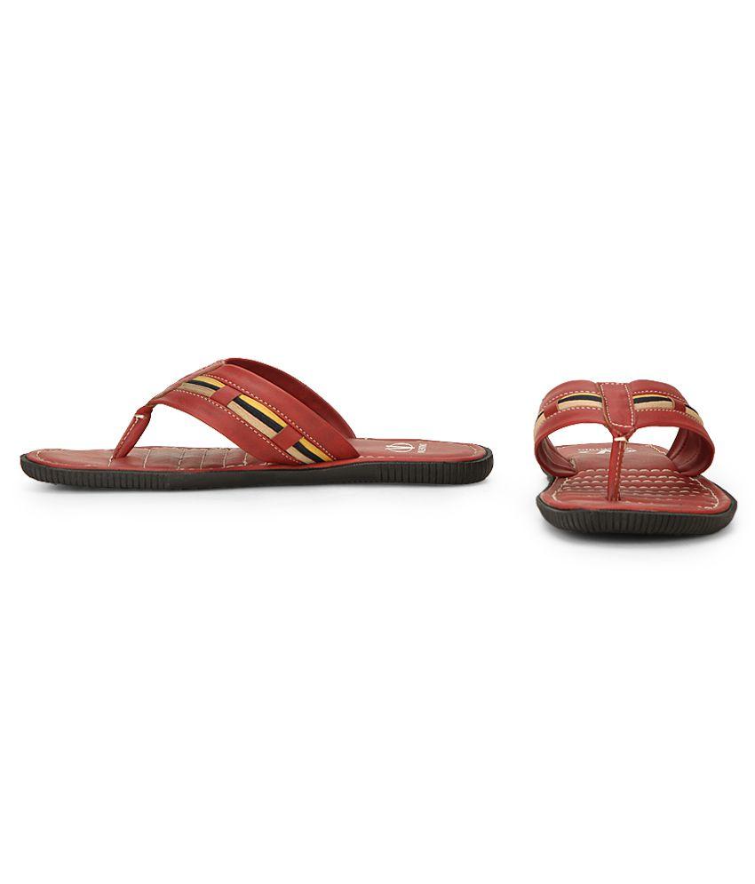c0883451c6ed Valentino EYE CATCHER-03 Red Slippers Price in India- Buy Valentino ...