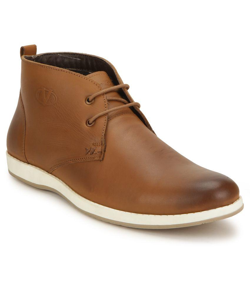 Valentino ROADIES-86 Tan Boots