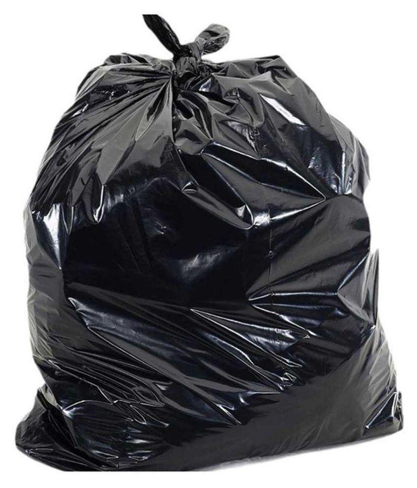 Manbhari Garbage Bag - 20, Micron - Set of 90 Pcs