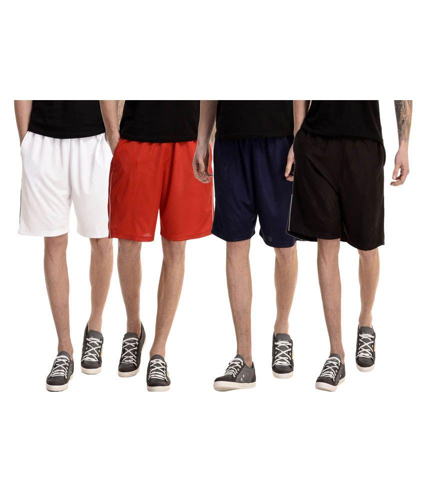 Gaushi Multi Shorts Pack of 4