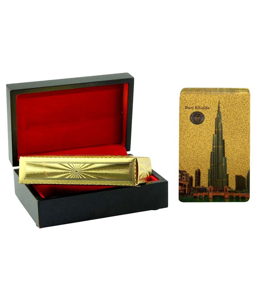 Gold Dust Golden Card Set with Case