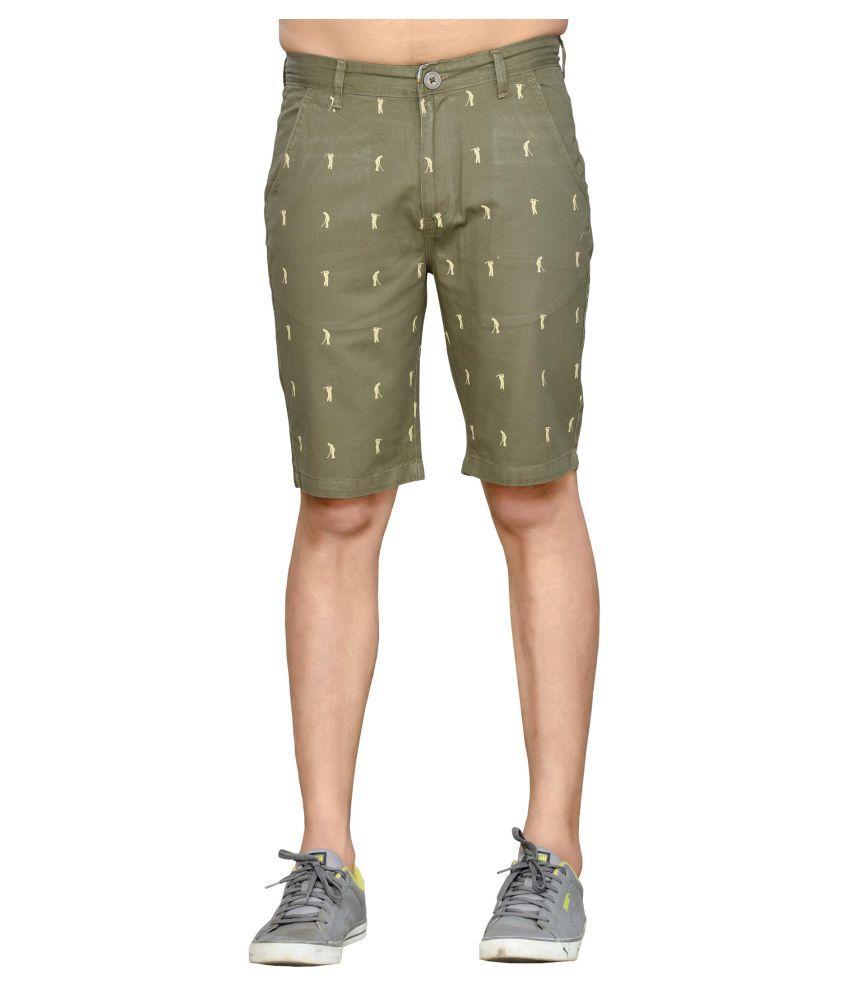 Thinc Green Shorts