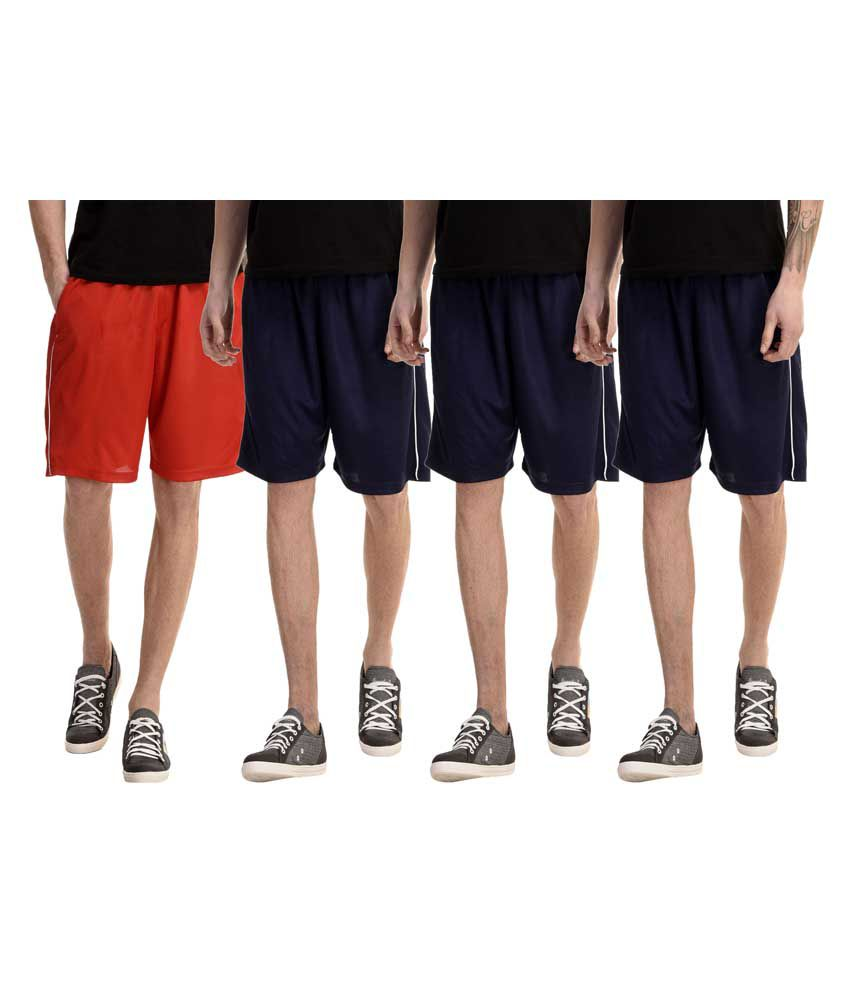 Gaushi Multi Shorts Pack of 4