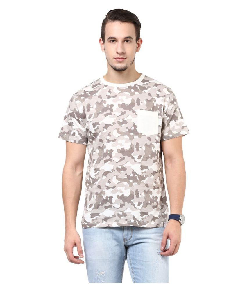 Cotton Fruitz Multi Round T-Shirt