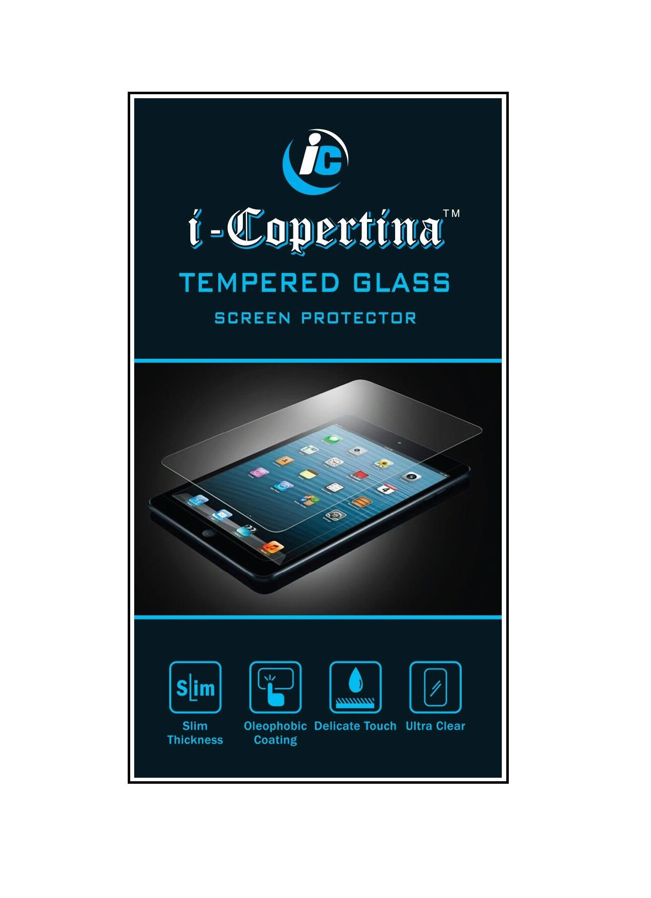 Sony Xperia C3 Tempered Glass Screen Guard By iCopertina