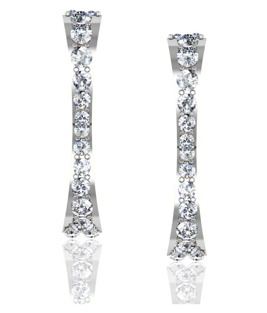 Jewellery Bazaar 18k Gold Huggies