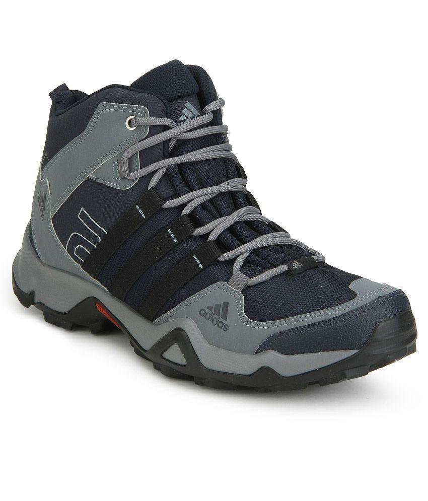 Adidas Gray Hiking & Trekking Sports Shoes