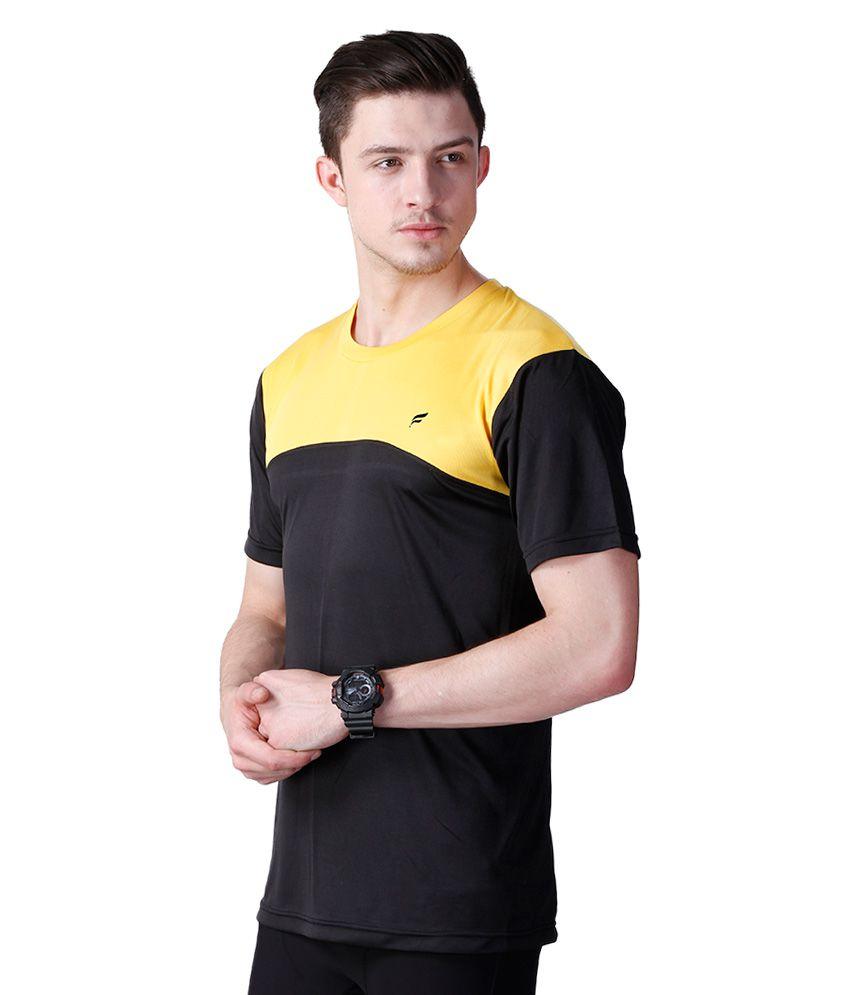 Flingr Black T-Shirt