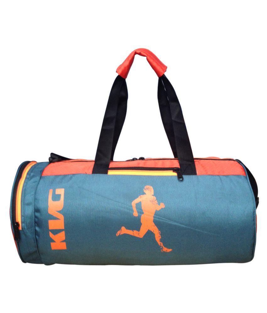 KVG Blue Gym Bag