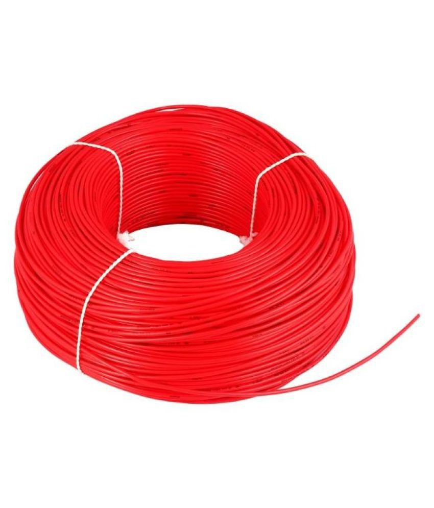 Buy Luminous 25 Sq Mm Solar 90 Meter Wire Red Online At Low Price Wiring House