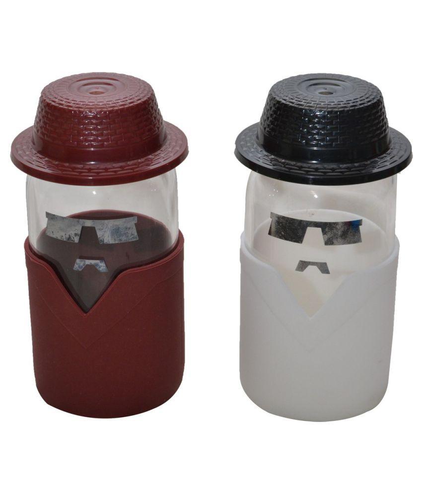 Platinum Overseas Vacuum Cap 350 Ml Bottle - Pack of 2