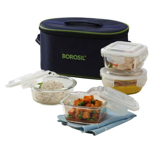Borosil Transparent Lunch Box