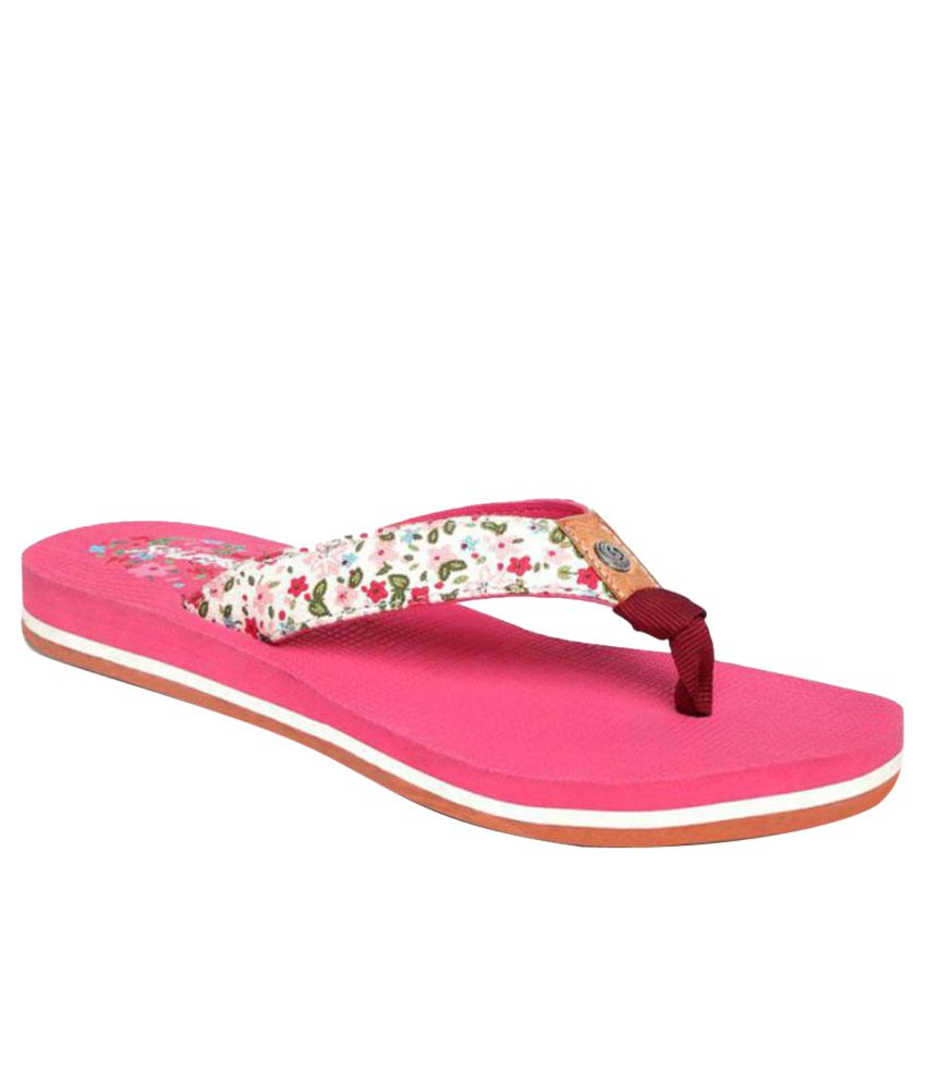 Sole Threads Pink Flip Flops