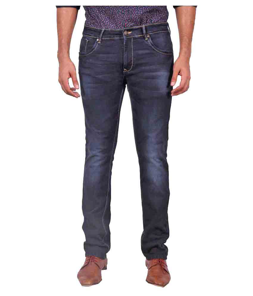 Urbantouch Dark Blue Slim Washed