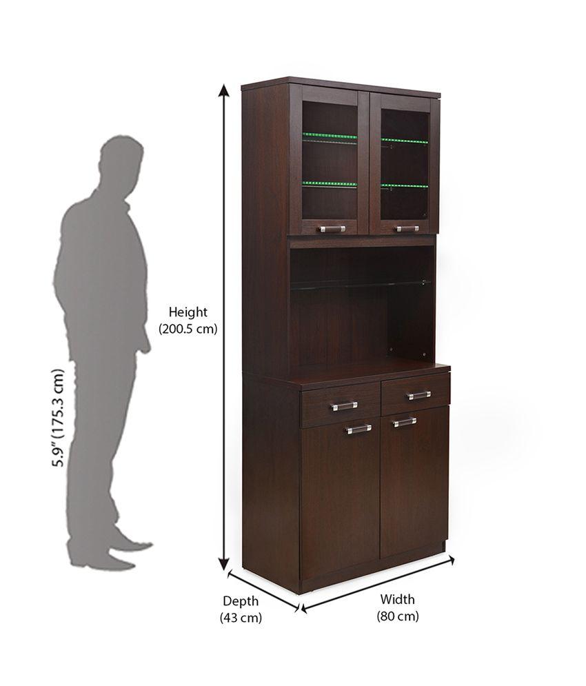 home by Nilkamal Derval Kitchen Cabinet - Buy @home by Nilkamal ...