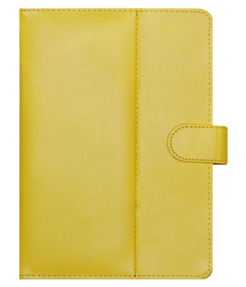 Lenovo S8-50f Flip Cover By Acm Yellow