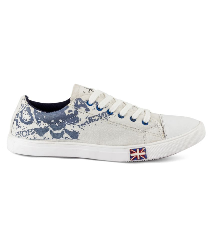 for sale wholesale price Isole White Canvas Shoes outlet find great discount price RCzEXR9