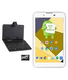 I Kall IK2 with Keyboard White ( 3G + Wifi Voice calling )