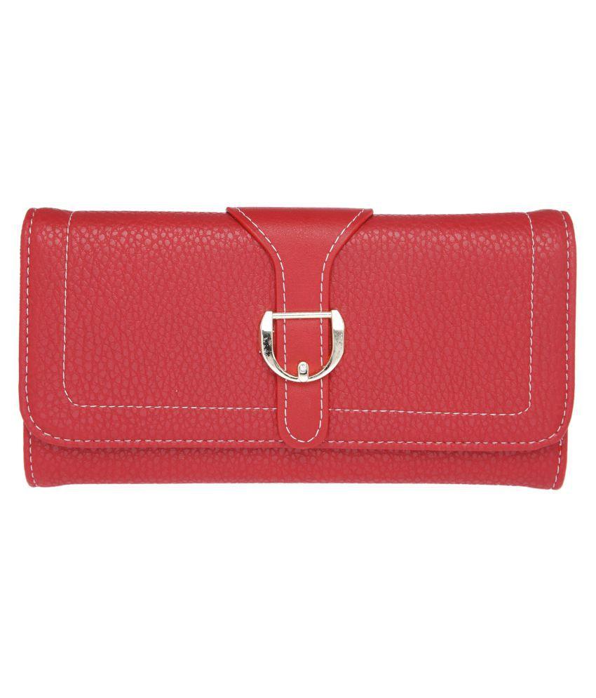 Fur Jaden Red Wallet