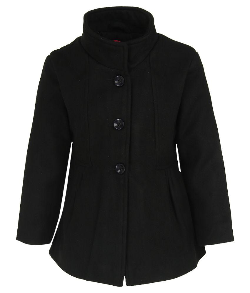 612 League Black Solid Coat