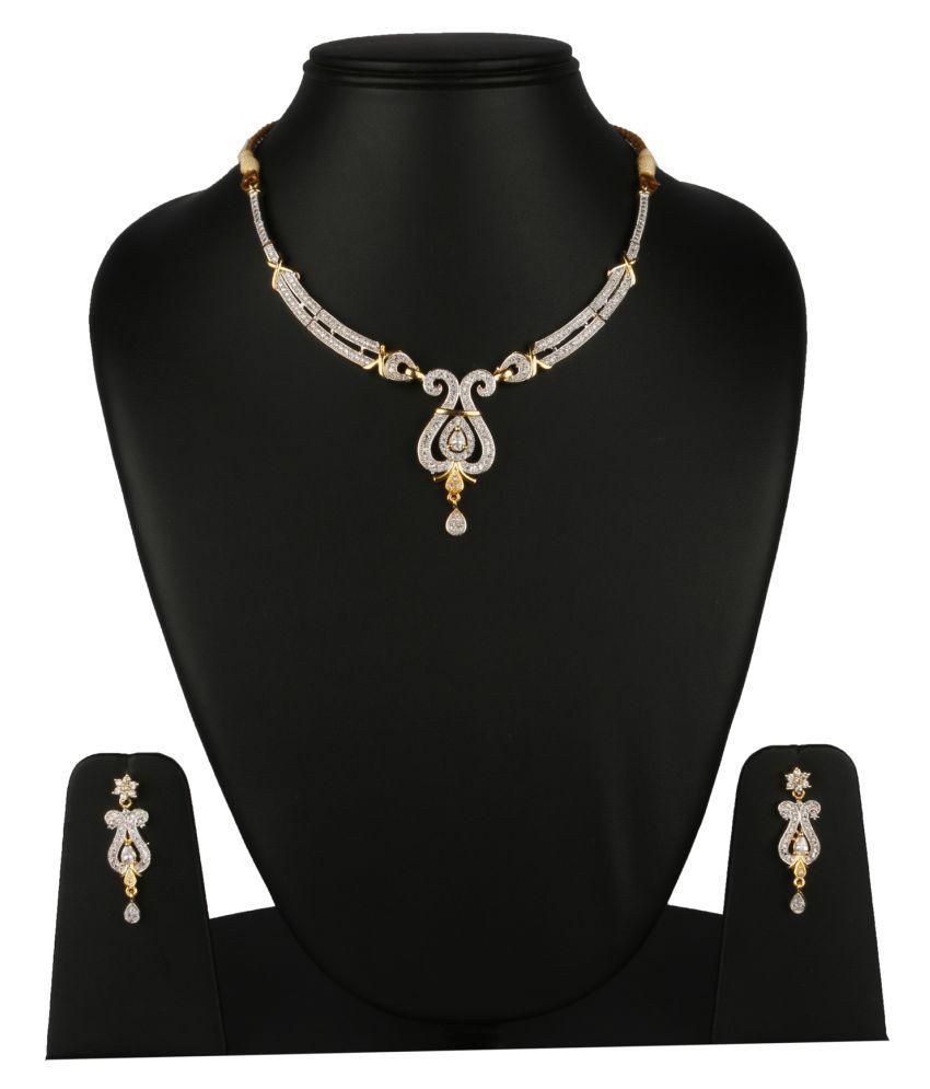 Fanvi Multicolour Alloy Necklaces Set