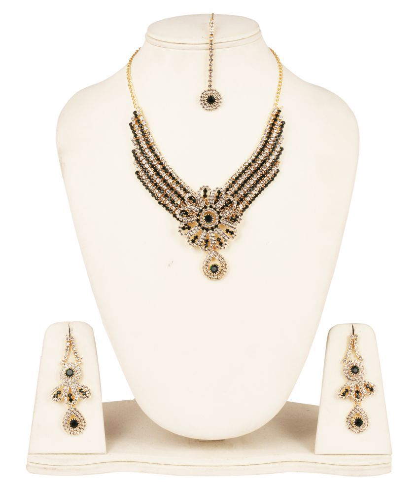 Fanvi Multicolour Designer Necklace Set