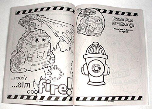 tonka chuck friends boomer bendon coloring activity