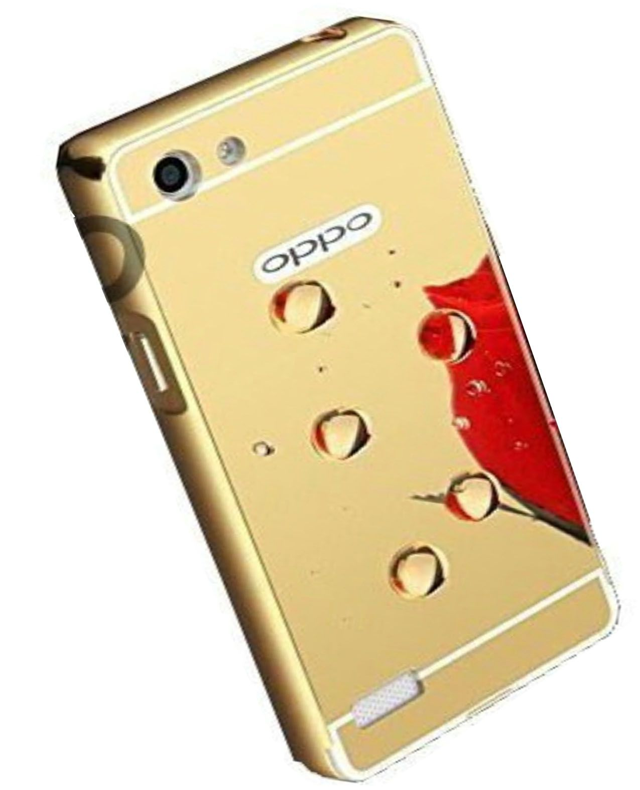 new style d1295 80ad1 Oppo Neo 7 Cover by JKR - Golden
