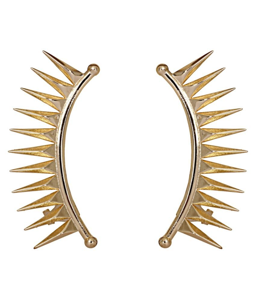 Crunchy Fashion Golden Ear Cuffs