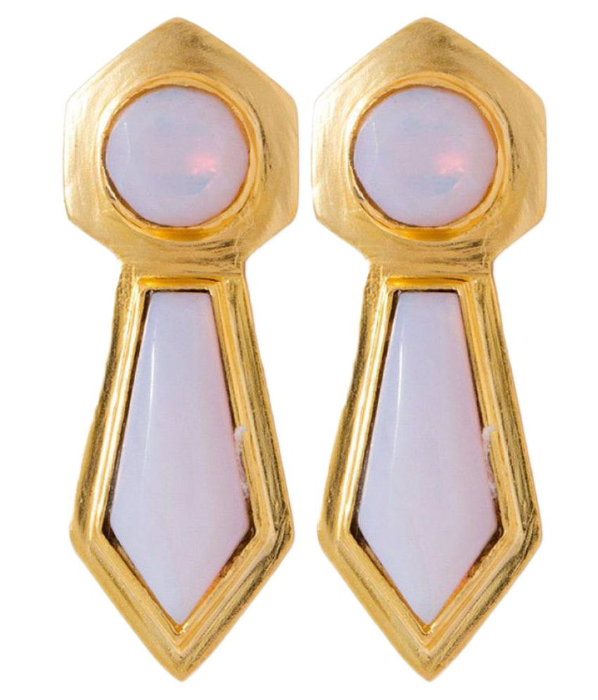 Voylla Multicolour Drop Earrings