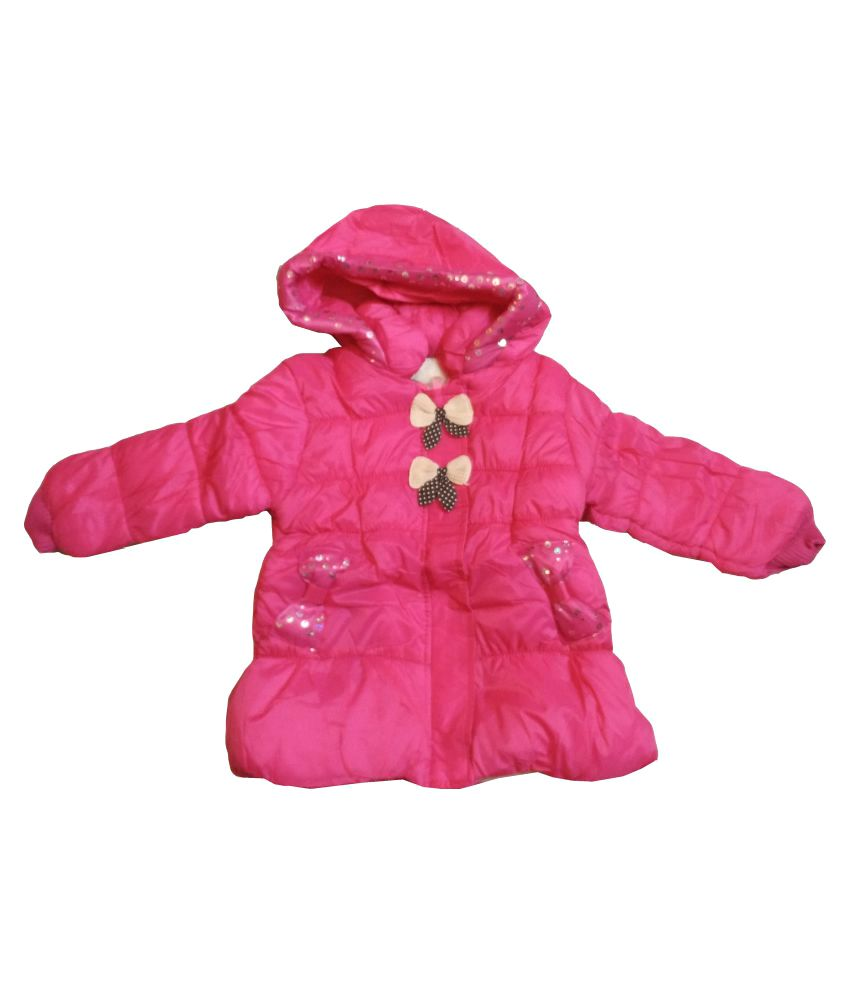 Assent Store Pink Polyester Jacket