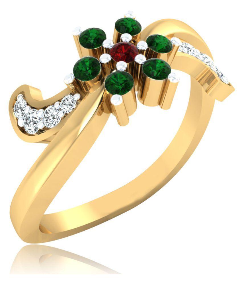 Carat Forever 18k Gold Ruby Ring
