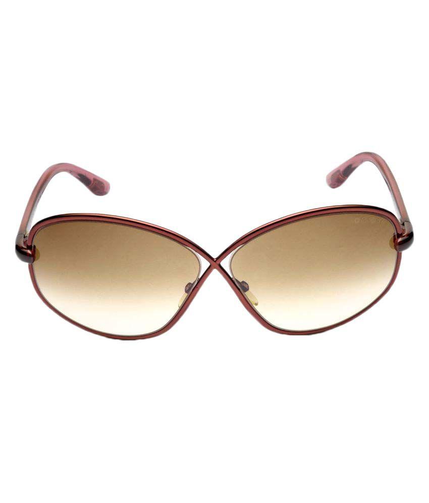 e865cc292aaf0 ... Tom Ford Brown Oversized Sunglasses ( BRIGITTE 160 48F