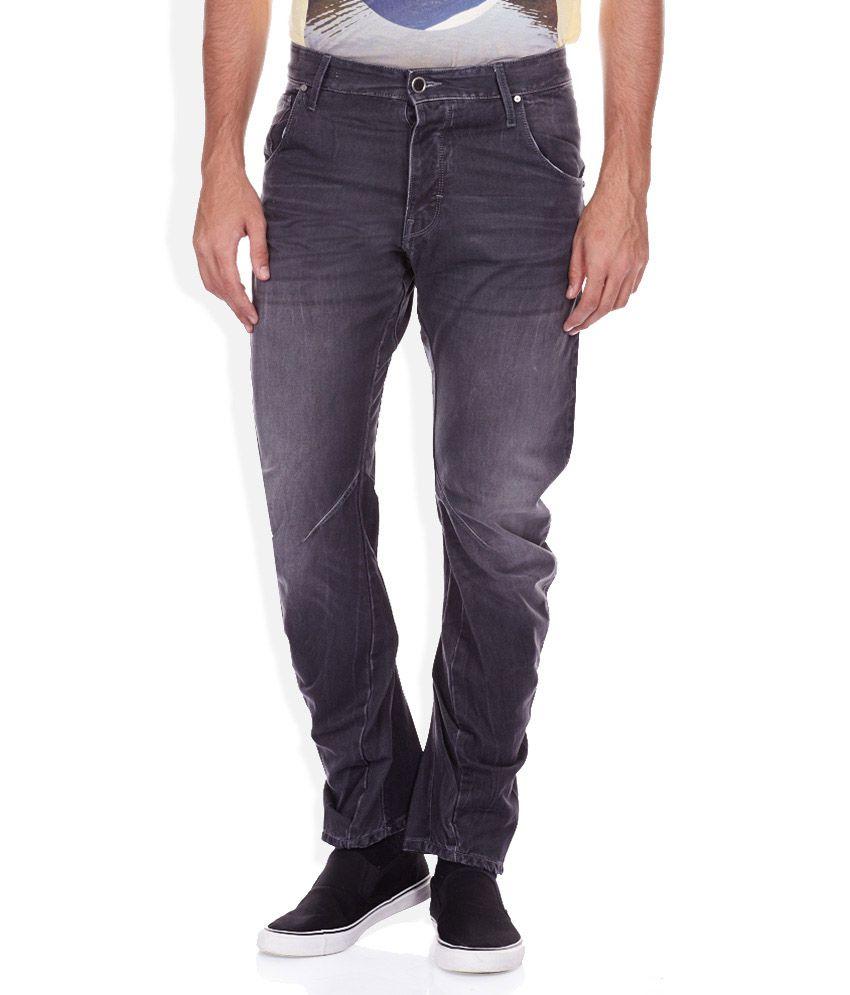 Voi Jeans Blue Regular Fit Jeans