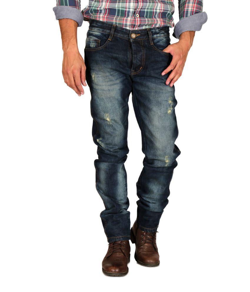 Mynte Blue Regular Fit Jeans