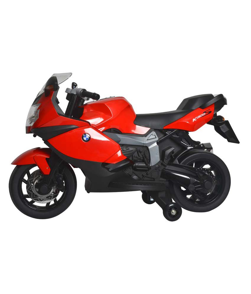 mera toy shop bmw k1300 s battery operated motorcycle-red - buy